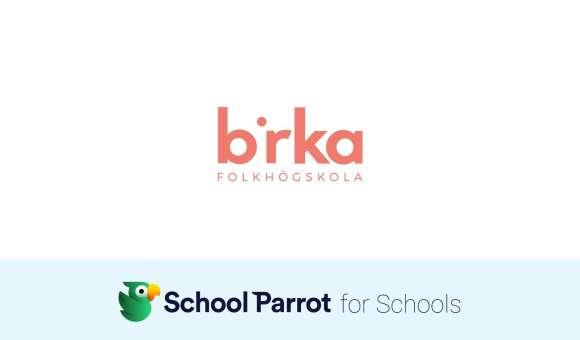 Birka första folkhögskola att använda SchoolParrot!