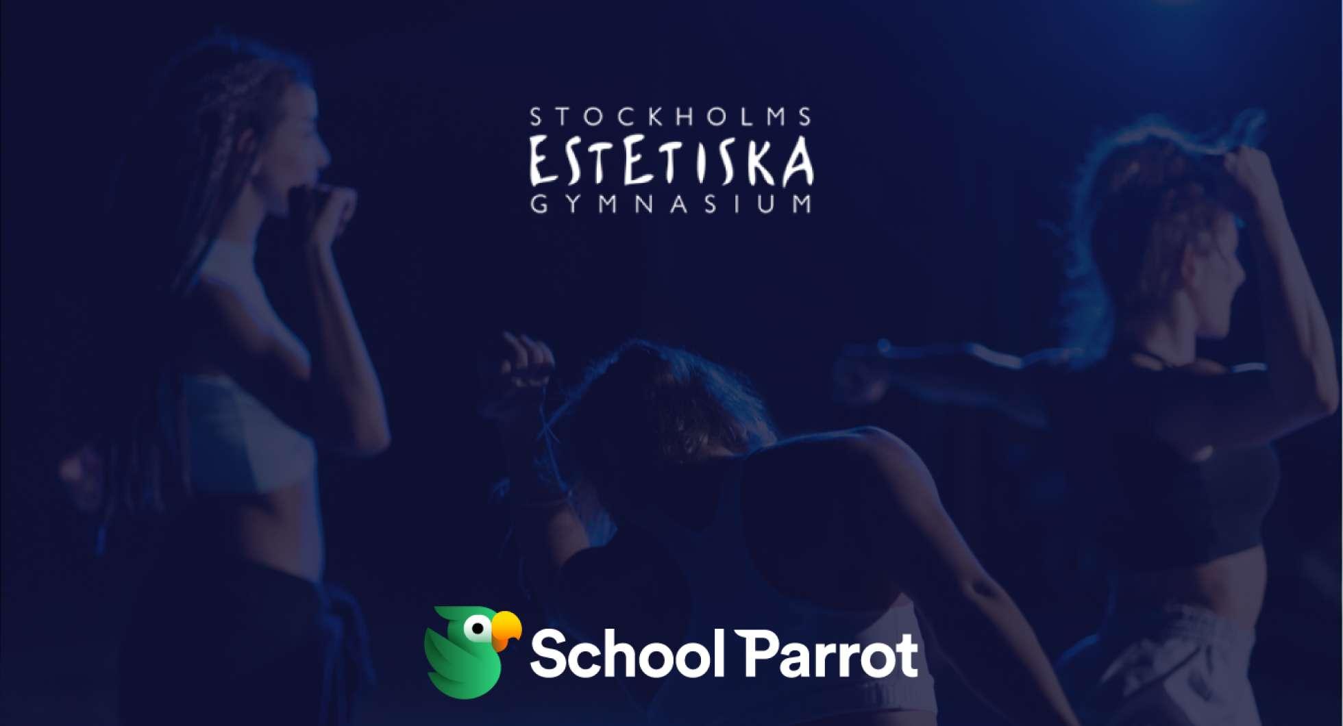 Stockholms Estetiska Gymnasium väljer SchoolParrot.