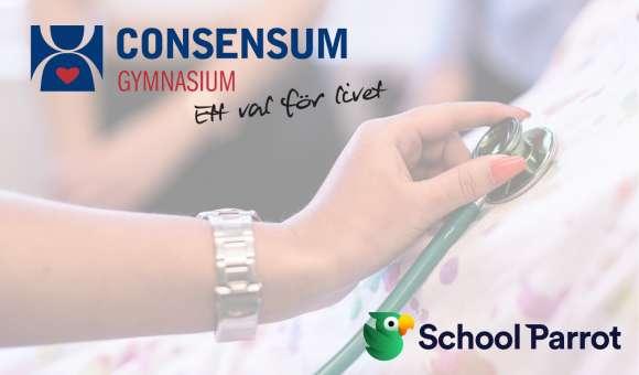 Consensum Gymnasium Sollentuna väljer SchoolParrot!